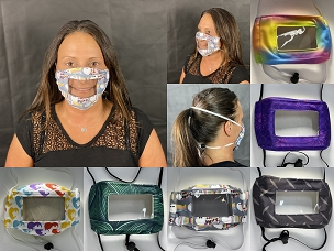 Clear Series - Printed Face Masks